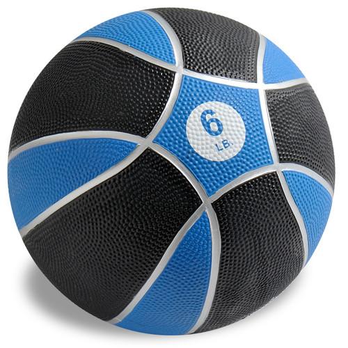 Exertools 6 pound Hard Shell Exball (Medicine Ball)