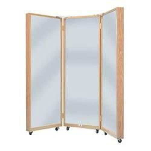 Hausmann Portable Triple Mirror