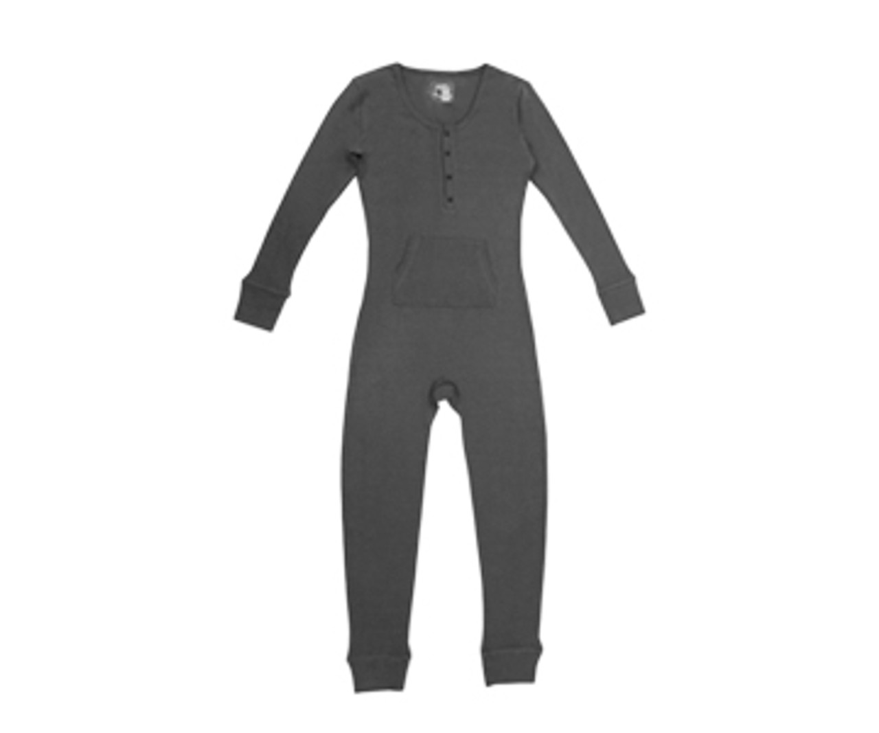 95152ddc6 Organic Thermal Women's Onesie in Graphite