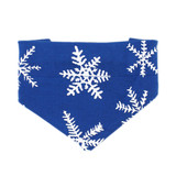 Pets' Holiday Bandana in Snow-Ho-Ho, Flat