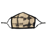 Reversible Organic Face Mask in Oatmeal Plaid