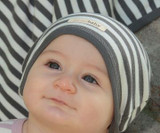 Organic Cute Cap in Gray/Beige, Lifestyle