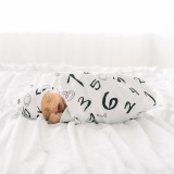 Organic Swaddling Blanket in Numbers, Lifestyle