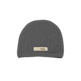 Organic Thermal Cute Cap in Graphite, Flat