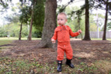Organic Kids' Graphic Hooded Sweatshirt in Maple Carrot, Lifestyle @halley_pardy-pardyhalley@gmail.com