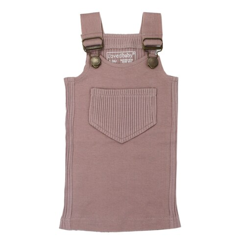 Kids' Ribbed Tank in Thistle, Flat