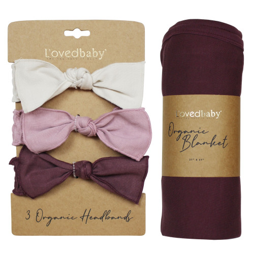 Wrapped-in-L'ove Gift Set in Purples, Flat