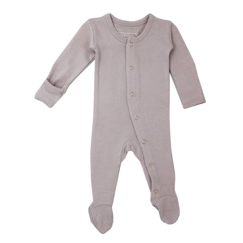 Organic Jumpsuit in Light Gray, Flat