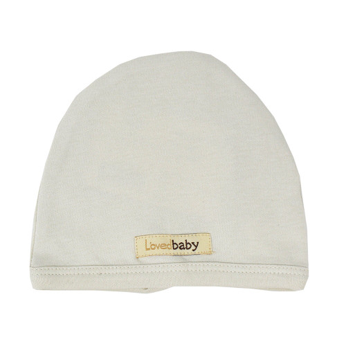Organic Cute Cap in Stone, Flat