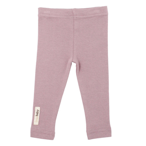 Organic Leggings in Lavender, Flat