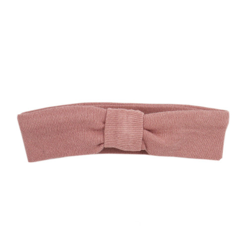 Organic Headband in Mauve, Flat