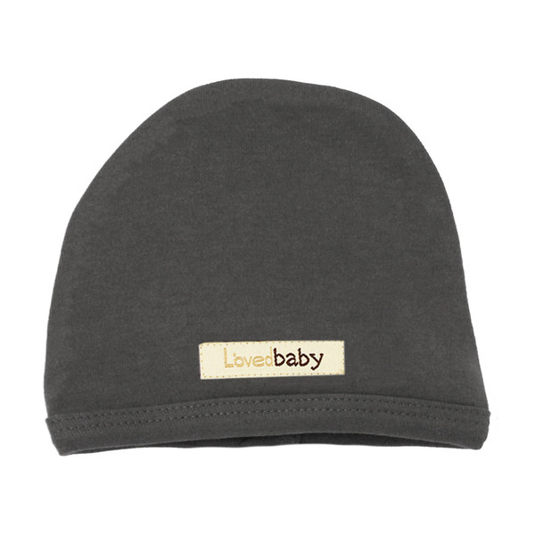 Organic Cute Cap in Gray, Flat