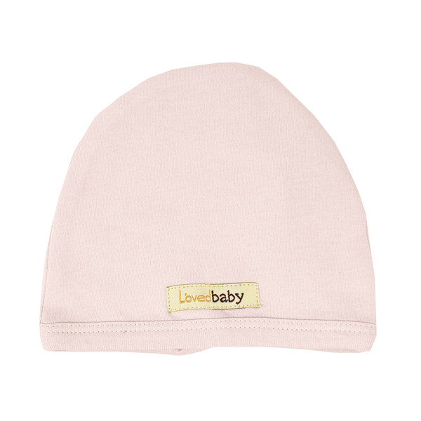 Organic Cute Cap in Blush, Flat