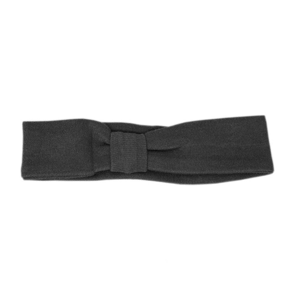 Organic Headband in Gray, Flat