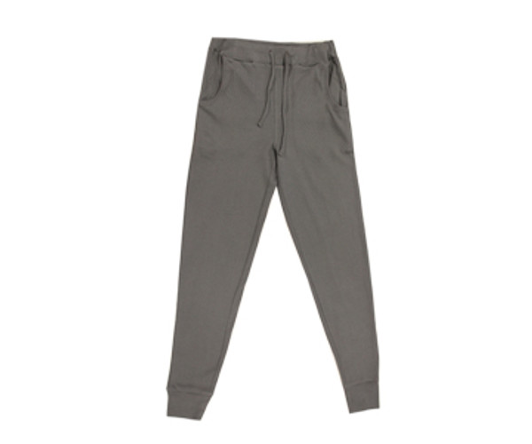 Organic Thermal Men's Jogger Pants in Graphite, Flat