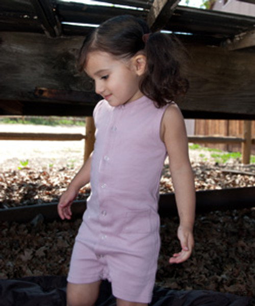 Shortalls in Pink, Flat