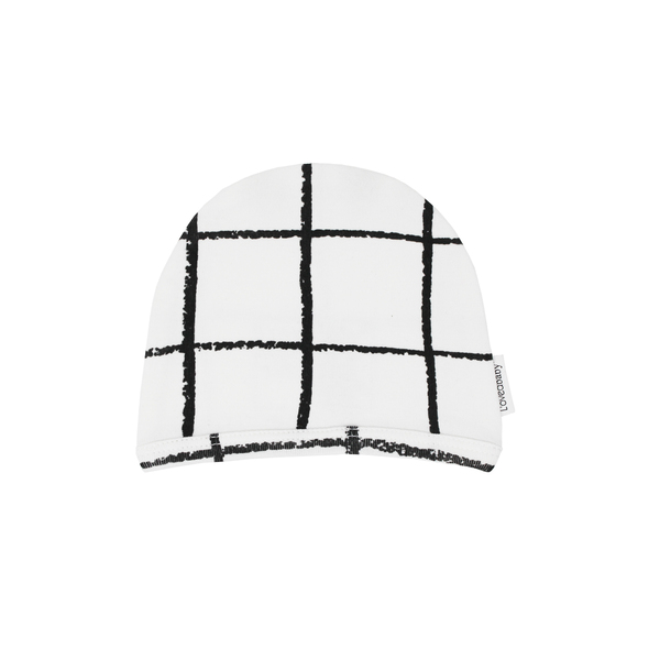 Organic Cute Cap in Hopscotch, Flat