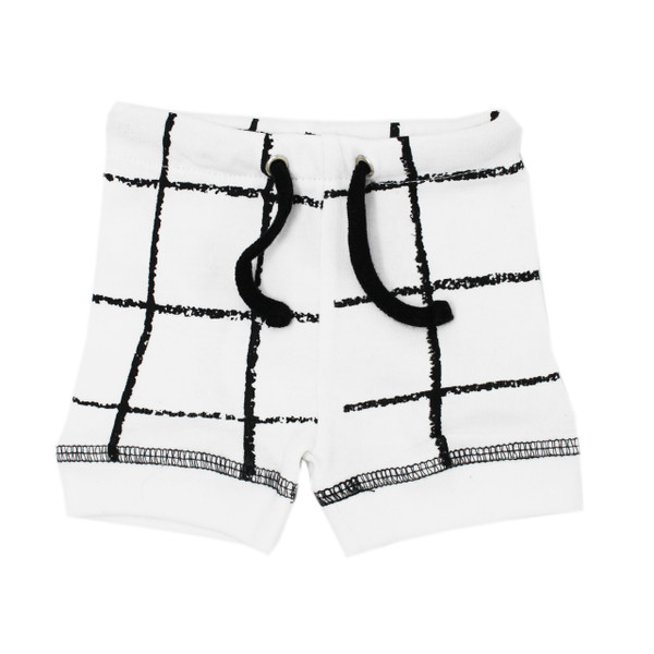 Organic Bike Shorts in Hopscotch, Flat