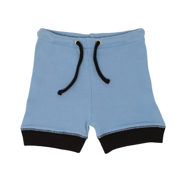 Organic Kids' Bike Shorts in River, Flat