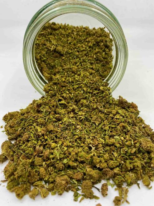 Delta 8 Trim & Small Buds with (2) Hemp Wraps