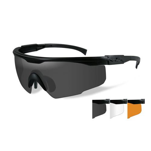 Wiley X PT-1SCL | Three Lens w/ Matte Black Frame