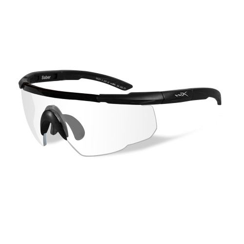 Wiley X Saber Advanced   Clear Lens w/ Matte Black Frame