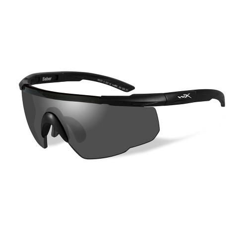 Wiley X Saber Advanced   Smoke Grey Lens w/ Matte Black Frame