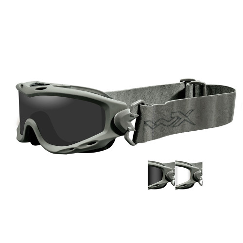 Wiley X Spear   Two Lens w/ Green Frame