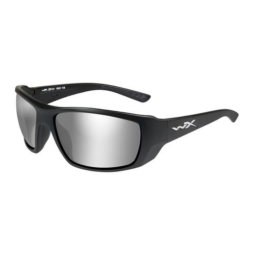 Wiley X Kobe | Silver Flash Smoke Grey lens w/Matte Black Frame