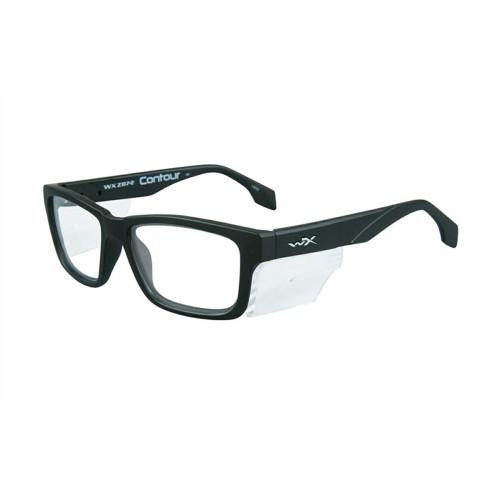 Wiley X Contour | Clear Lens w/ Matte Black Frame