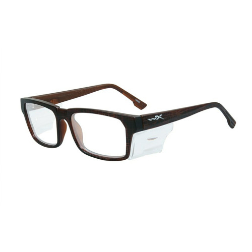 Wiley X Profile | Clear Lens w/ Matte Hickory Brown Frame