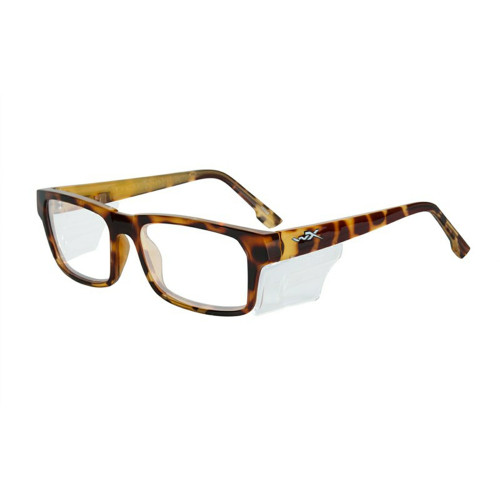 Wiley X Profile | Clear Lens w/ Gloss Brown Demi Frame