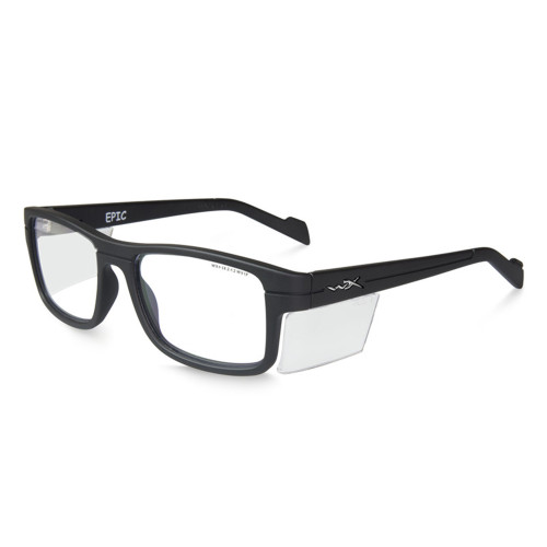 Wiley X Epic | Clear Lens w/ Matte Black Frame