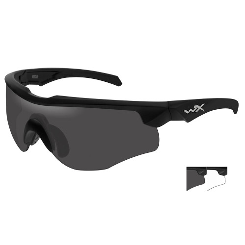 Wiley X Rogue   Two Lens w/ Matte Black Frame Comm Temple