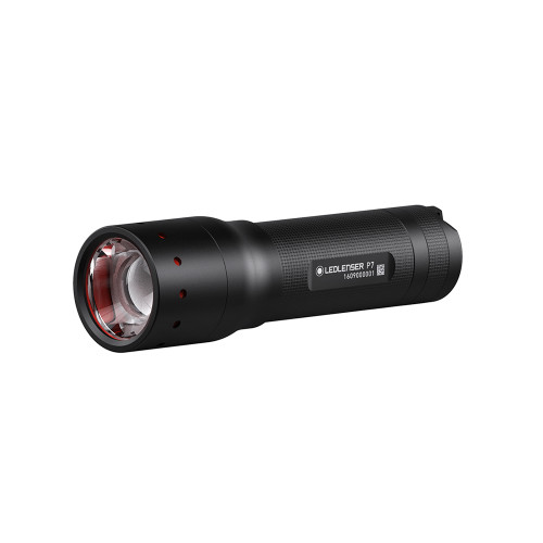 P7 Handheld Flashlight Black