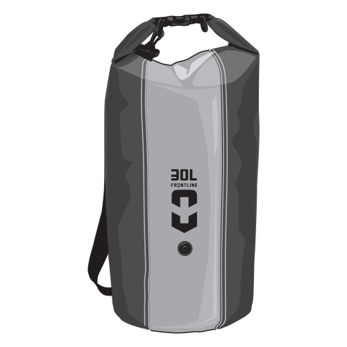 Frontline Dry Bag 35L Black/Grey