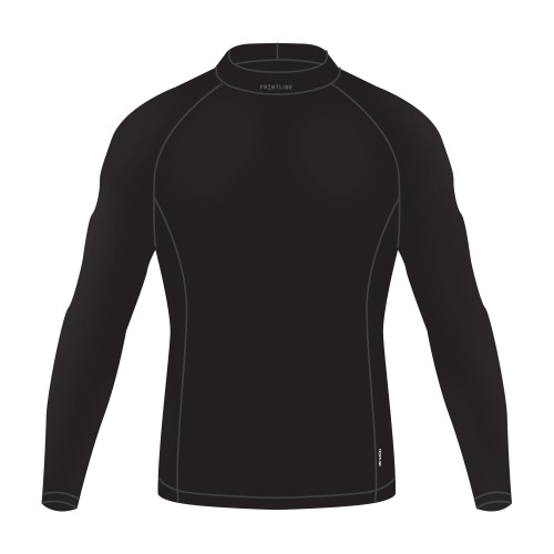 Frontline Thermal Fleece Top Black