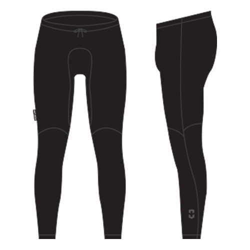 Frontline Thermal Fleece Pants Black