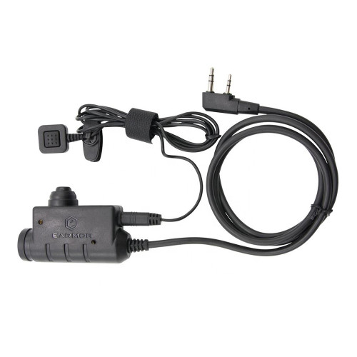 M52 PTT For Kenwood 2-Pin Radio Applications