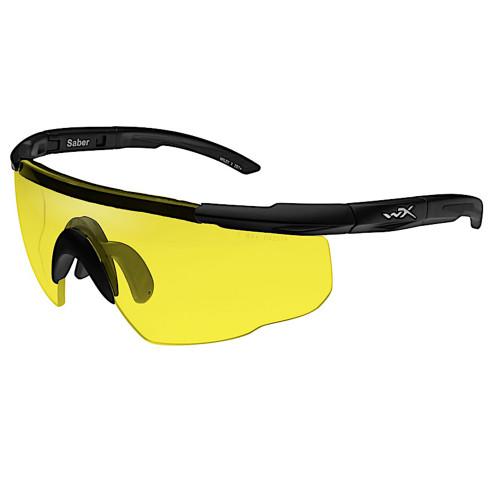 Wiley X Saber Advanced   Pale Yellow Lens w/ Matte Black Frame