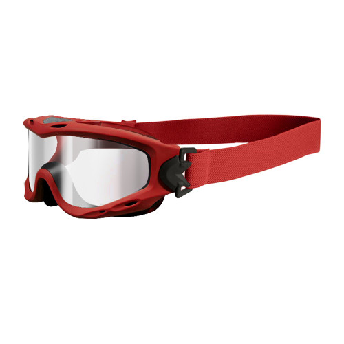 Wiley X Spear | Clear Lens w/ Red Frame Kit