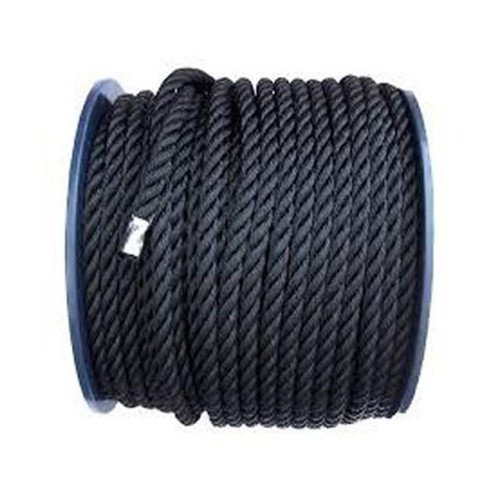 Polyester Rope Black 10mm x 200m Roll