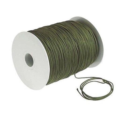 Polyester Rope 3 Strand 6mm OD Green 250m Roll
