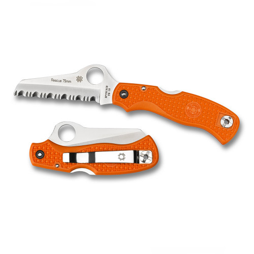 Rescue Knife 79mm Lightweight Orange