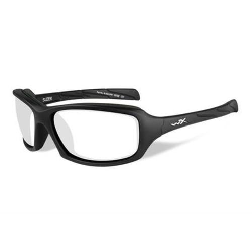 Wiley X Sleek   Clear Lens w/ Matte Black Frame