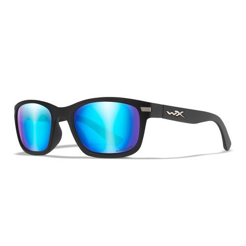 Wiley X Helix | Captivate Polarised Blue Mirror Lens w/ Matte Black Frame