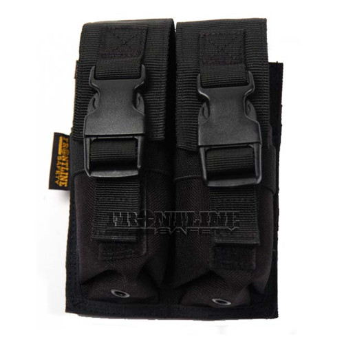 Frontline Double SF Pouch Black