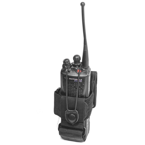 Frontline Universal Radio Carrier Black