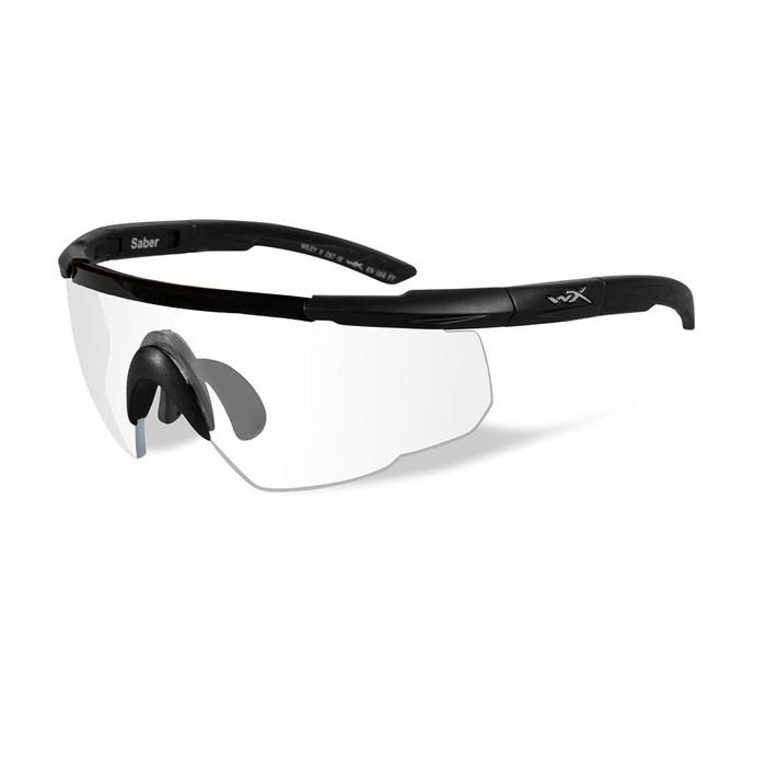 Wiley X Saber Advanced | Clear Lens w/ Matte Black Frame
