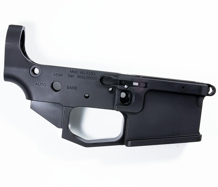 OT Firearms AR15 Billet Lower Receiver w/AMBI Bolt Release - No Logo